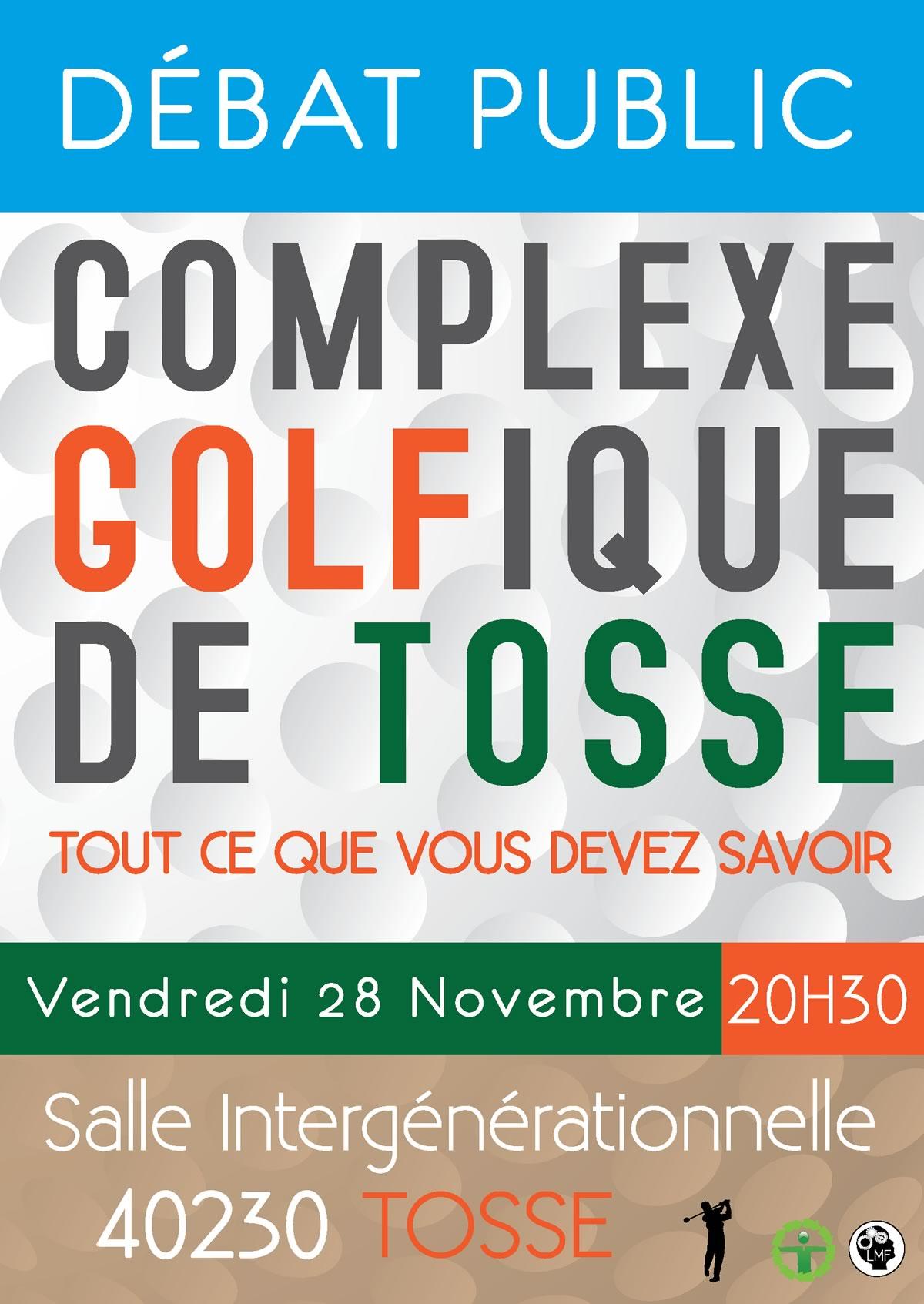 Débat Public : le Vendredi 28 Novembre, 20h30, salle intergénérationnelle à Tosse