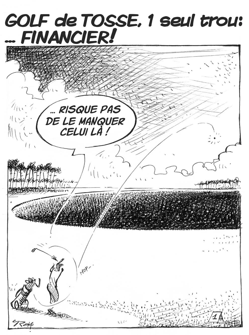 nouTous - Golf de Tosse - 1 seul trou: FINANCIER