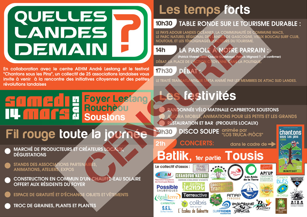 Flyer- Quelle Landes Demain-censuré
