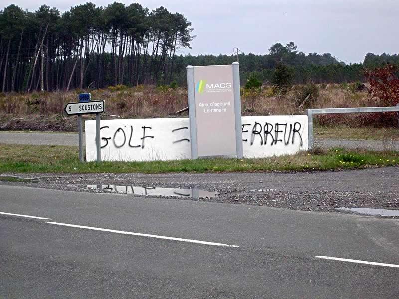 Golf=erreur