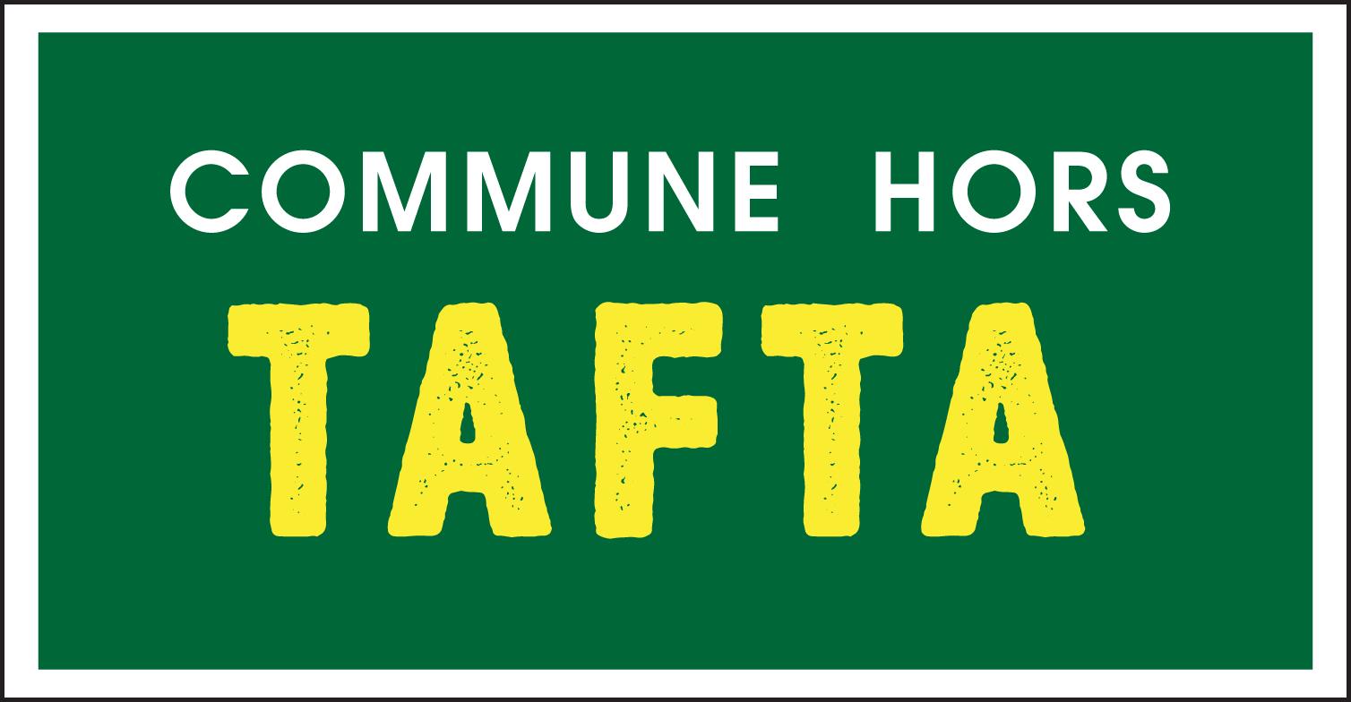 Panneau : Commune hors Tafta