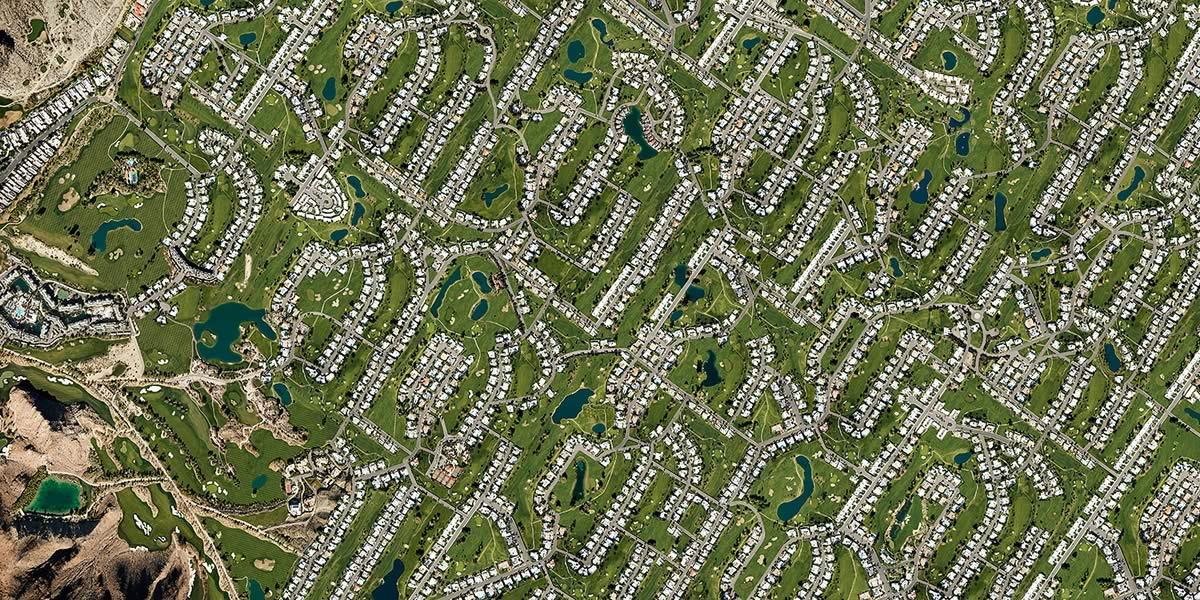 l'industrie de Golf façon Palm Springs
