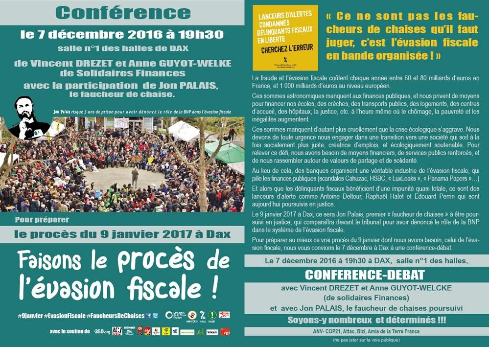 Conference le 07-12-2016