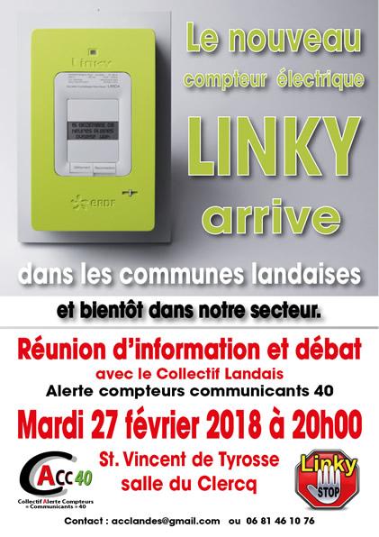 conférence StopLinky - St. Vincent de Tyrosse