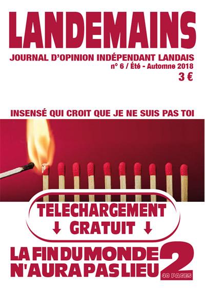 Landemains 6 Été-Automne 2018 - nouTous
