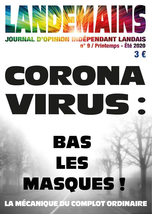 Landemains 9 - Corona virus - bas les masques