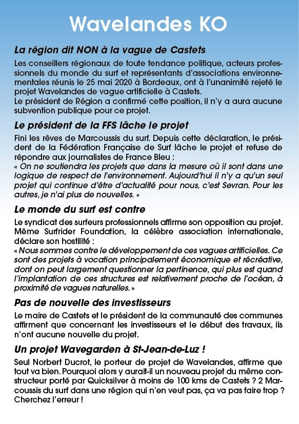 tract 3 - Castets - vague artificelle
