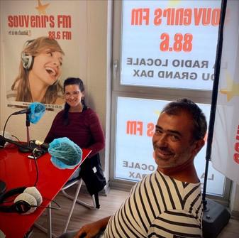 Interview souvenirsFM collectif SAUVONS LE LÉZARD OCELLE