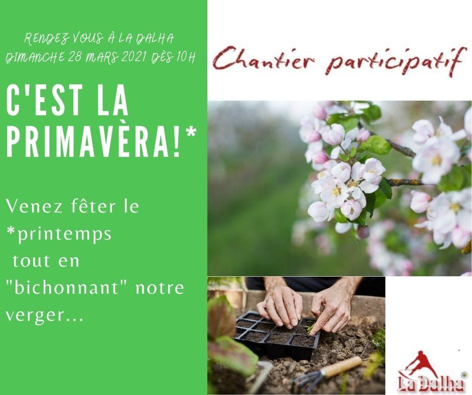 Chantier participati - La Dalha - 28 MARS 2021