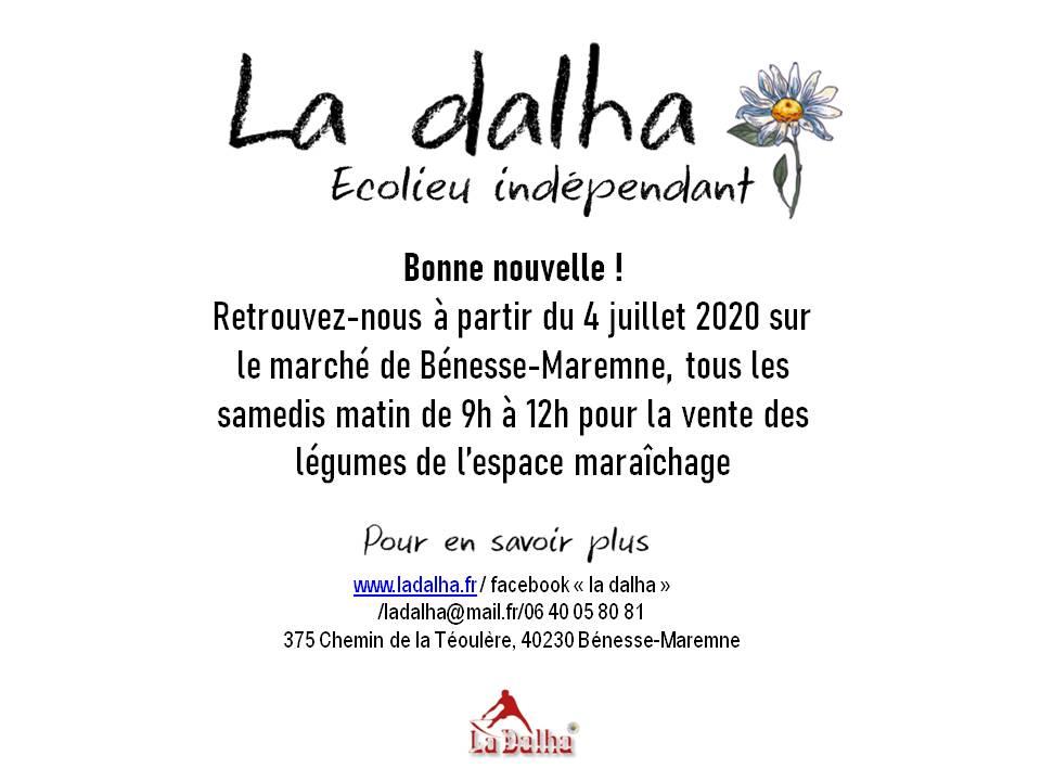 Marché - La Dalha